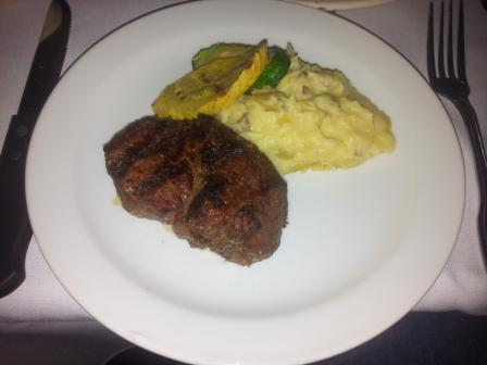 Chop House Steak and Mashed Potatoes